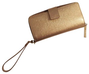 Halogen Rose gold wallet