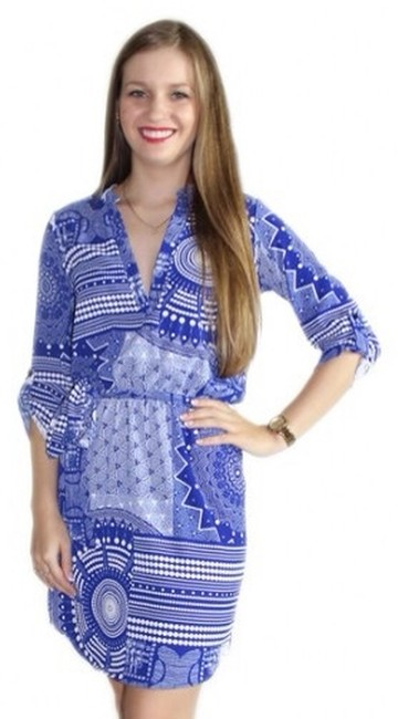 Preload https://item4.tradesy.com/images/private-collection-dress-blue-1495408-0-0.jpg?width=400&height=650