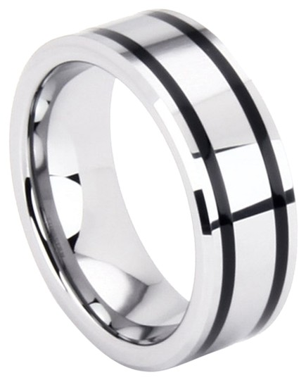 Preload https://item4.tradesy.com/images/portofino-tungsten-unisex-band-with-spinning-black-prism-8-mm-sizes-5-15-made-to-order-free-shipping-1495428-0-0.jpg?width=440&height=440
