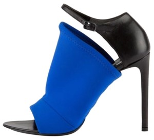 Balenciaga Black/Blue Sandals