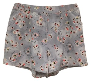 LC Lauren Conrad Mini/Short Shorts Gray, Pink, White, Black, Yellow