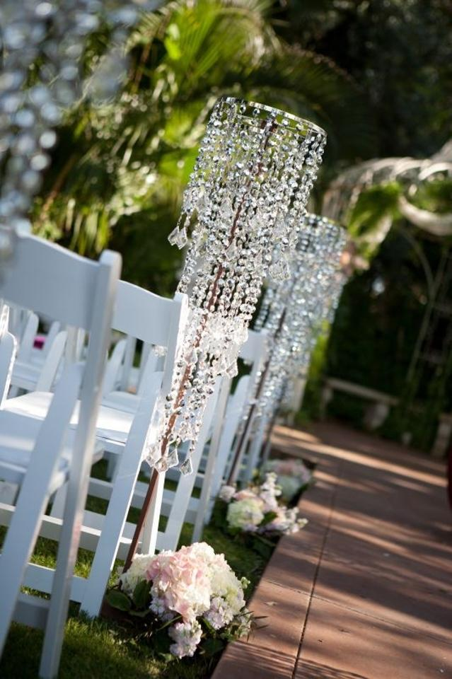 Clear Lot Of Tall Aisle Runner Chandelier Acrylic Crystal Beaded - Chandelier acrylic crystals