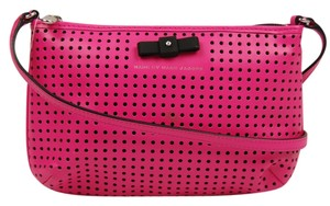 Marc Jacobs Leather Polka Dot Cross Body Bag
