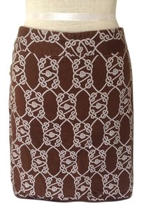 Vineyard Vines Skirt Brown & white
