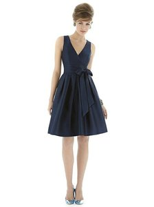 Alfred Sung Midnight Alfred Sung D666 Midnight Dupioni Dress