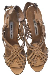 Manolo Blahnik Light tan Sandals