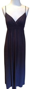 Navy Maxi Dress by James Perse Jersey Modal Empire Waist