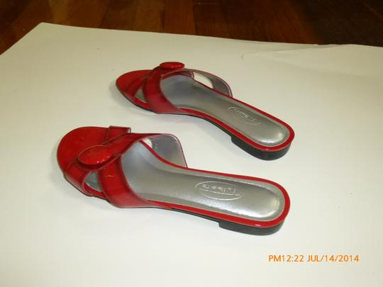 Talbots Red Sandals Image 1
