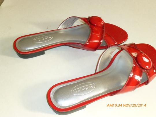 Talbots Red Sandals Image 2