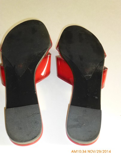 Talbots Red Sandals Image 3
