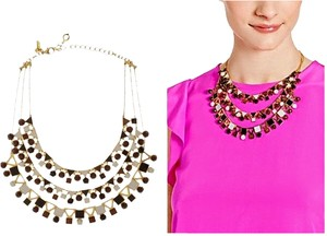 Kate Spade Kate Spade Ipanema Tile Statement Necklace