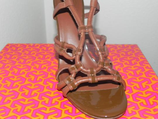 Tory Burch Brown Almond Sandals