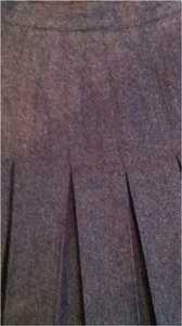 sk & company Wool Midi Quality Skirt gray