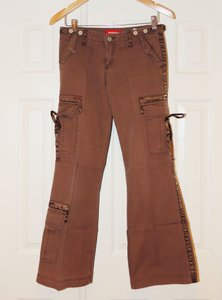 UNIONBAY Union Bay Boot-cut Boot Cut Pants Brown