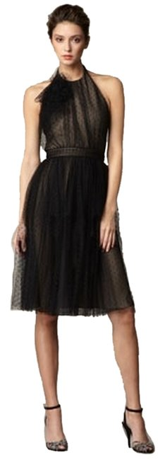 Preload https://item1.tradesy.com/images/carmen-marc-valvo-black-and-nude-point-d-esprit-mid-length-formal-dress-size-2-xs-1495685-0-0.jpg?width=400&height=650