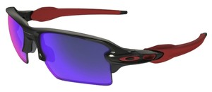 Oakley Oakley OO9188-24 Flak 2.0 Black/Red Lens Sunglasses