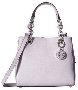 Michael Kors Satchel in Lilac/Silver