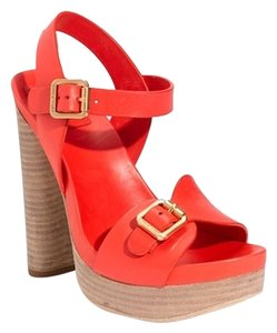 Tory Burch nectarine orange Sandals