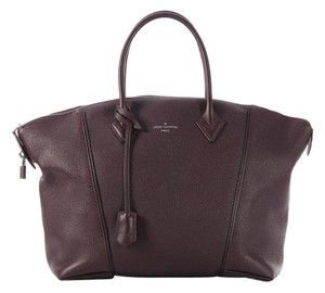 Louis Vuitton Plum Top Handle Purple Satchel