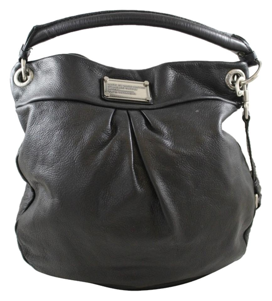9183521f8477 Marc by Marc Jacobs Hillier Black Leather Hobo Bag - Tradesy