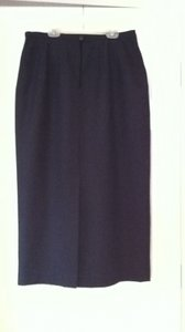 Harvé Benard Harve Wool Vintage Skirt Gray