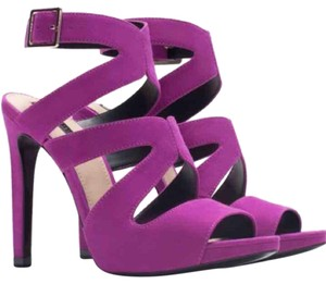Zara Purple Fuschia Pink Sandals