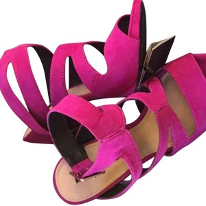 Zara Pink Fuschia Purple Sandals