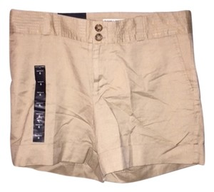 Banana Republic Martin Fit Cuffed Shorts khaki