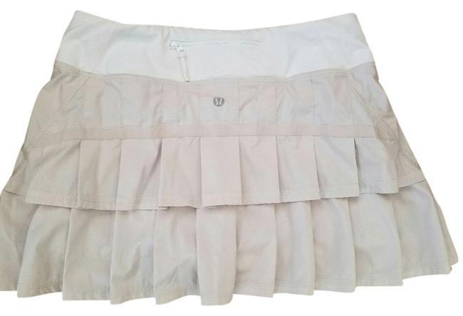 Item - Beige/White Activewear Bottoms Size 4 (S, 27)