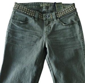 Guess Studded Gold Denim Skinny Jeans
