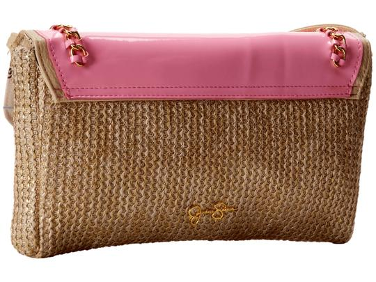 Jessica Simpson Natural/Soft Pink Clutch Image 3