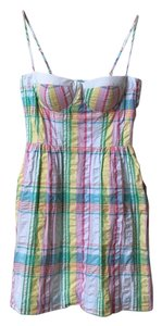 Lilly Pulitzer short dress White Pink Yellow Blue Green on Tradesy