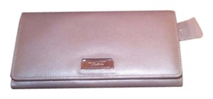Tumi Leather BEIGE Clutch