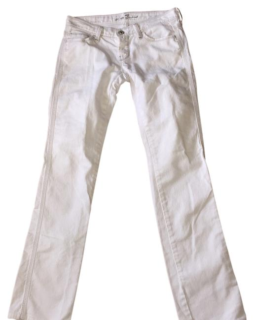 Item - White Straight Leg Jeans Size 26 (2, XS)