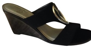Impo Black and Silver Sandals