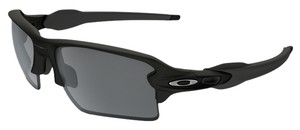 Oakley Oakley OO9188-01 Rectangular Matte Black/Black Iridium Sunglasses