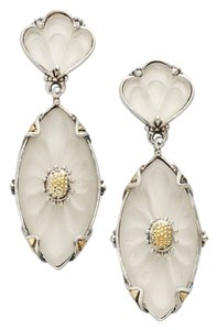 Konstantino Konstantino Mother of Pearl Sterling Silver 18K Gold Earrings