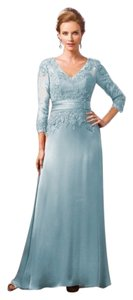 Jade Couture Mother Of The Bride Lace Wedding Elegant Dress