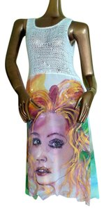 Violet Luck short dress Handpainted One Of A Kind Unique on Tradesy