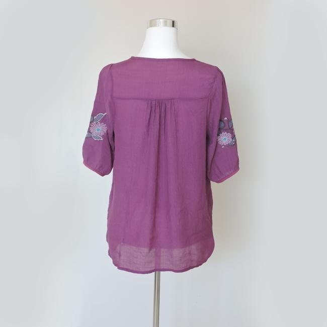 Other Button Down Shirt Purple Image 1