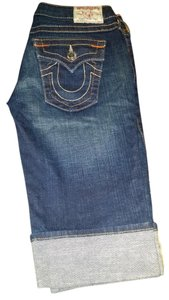 True Religion Bermuda Shorts Blue