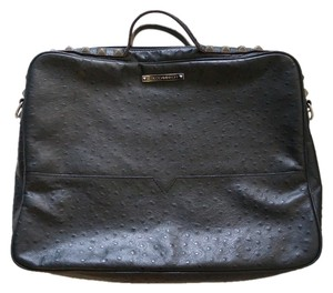 Rebecca Minkoff Ostrich Leather Luxury Studded Laptop Bag