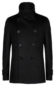 Emporio Armani Wool And Cashmeer Pea Coat