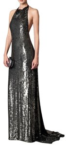 Diane von Furstenberg Sequin Gown Vintage Dress