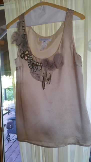 Coreylynncalter Top Cream with decorative front