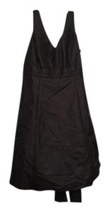 David's Bridal Black . Traditional Bridesmaid/Mob Dress Size 20 (Plus 1x)