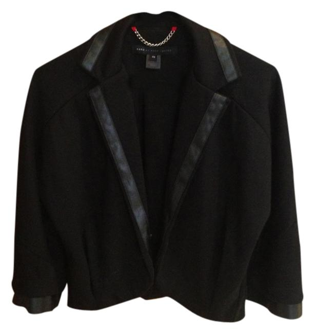 Preload https://item1.tradesy.com/images/marc-by-marc-jacobs-black-blazer-size-0-xs-1496085-0-0.jpg?width=400&height=650