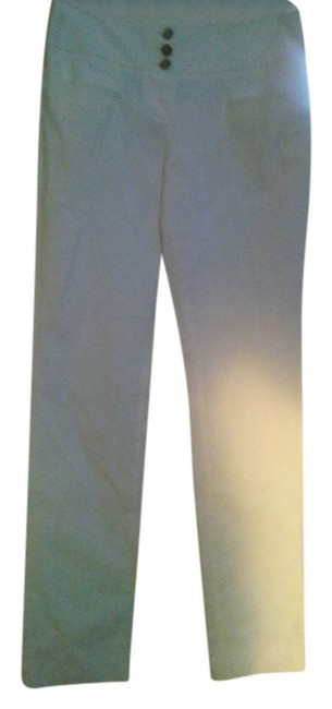 Item - White With Pockets and Button Fly Pants Size 6 (S, 28)