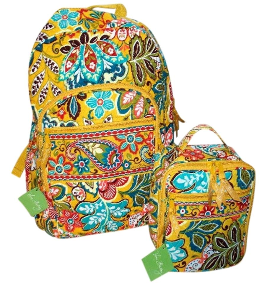 d638ecb33829 Vera bradley campus laptop computer lunch box tote school college baby  toddler travel beach christmas gift