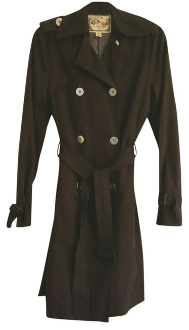 Millard Fillmore XS Vintage Hardware Accents Trench Coat